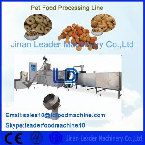 China Single Phase Pet Food Processing Line 220V 50HZ For Bird / Dog on sale