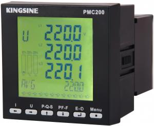 China High Performance Multifunctional Power Meter , 90 - 260 VAC PMC200 on sale