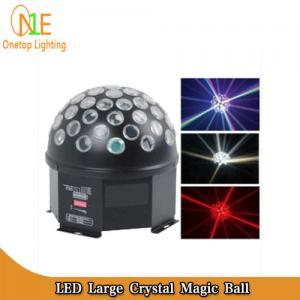 China Factor LED magic crystal ball light bar light KTV light led rotating disco mirror ball on sale
