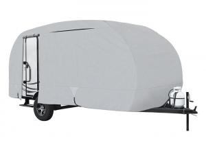 China 20' R Pod Travel Trailer Cover ,Travel Trailer Storage Covers Lightweight Ripstop Fabric on sale