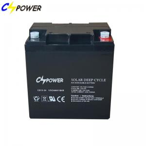 China CSPOWER Deep Cycle AGM BATTERY 12V 24Ah For UPS/Mobility Scooter on sale