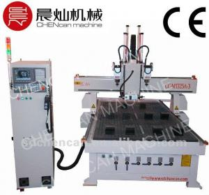 China CNC Wood Door Hinge and Keyhole Making Machine Router CC-M1325A-3 on sale