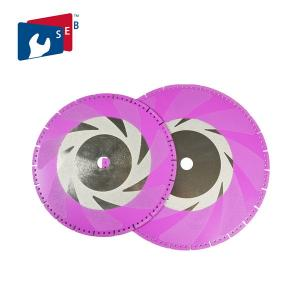 China Demolition Diamond Cutting Disc For Concrete 22.23mm / 25.4mm / 32mm Hole on sale
