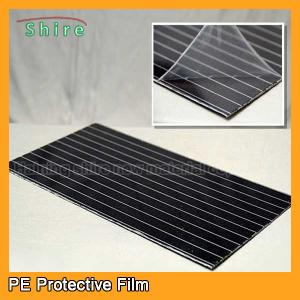 China Galvanized Aluminum Sheet Protective Film With 5 - 5 00G / 25MM Adhesion on sale