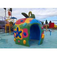 Family Members Water Fun Game Playground Apple House for Giant Park Play Equipment