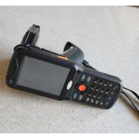 Android 4.3 Bluetooth RFID Hand Held Barcode Data Reader For Library , 3.5 TFT LCD Screen