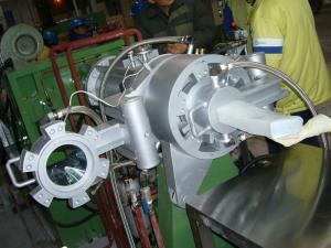 China 利用できるケイ素のゴム¢200mm OEM/ODMのための油圧こし器機械 on sale