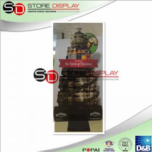China Lightweight Sailboat Standee Display For Chrismas Alcohol Advertising on sale