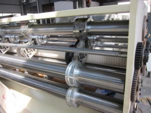 China Flexo Printing Slotting Die Cutting Machine / Carton Box Manufacturing Machines on sale