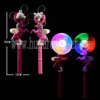 Children Multicolor Flashing Windmill Toy DIY Pegasus Design 35×12 Cm Size