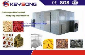 China Low Noise Industrial Drying Equipment , Fish Drying Heat Pump Dryer Steady Performance on sale
