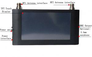China HN-430R multi-carrier diversity Hand-held video receiver on sale
