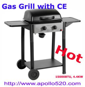 China 2 Burner Gas Barbecue BBQ on sale