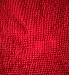 Microfiber 1200gsm Red Big Chenille 150cm Width Widely Used Like Mats Gloves