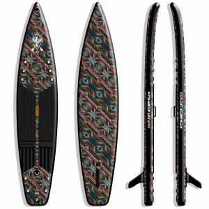 China 275LB SUP Race Boards 15PSI Double Layers With Comfortable Carrying Handle on sale