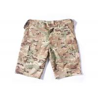 Summer Tactical Quick Dry Cargo Shorts , Cool Camo Cargo Shorts For Men