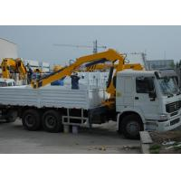 China Durable 5T Wire Rope Raise Articulated Boom Crane , 25 L/min Oil Flow on sale