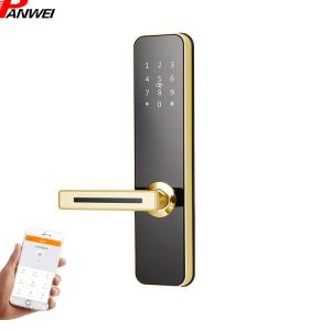 China Antique Copper Pin Code Door Lock Black Silver Customized Size Apartment on sale