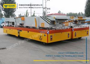 China 200 Ton Die Transfer Cart Cement Shunter Trolley Motorized Heavy Transporter on sale