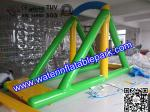 China Custom Inflatable Water Swing / Inflatable Water Park Water Sport Toy wholesale