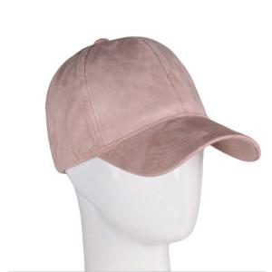 China Fashion Suede Fitted Sports Dad Hats Promotional Items Metal Buckle Back Closure on sale