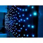 Warning blue led light wedding backdrop lighted backdrops for weddings starcloth