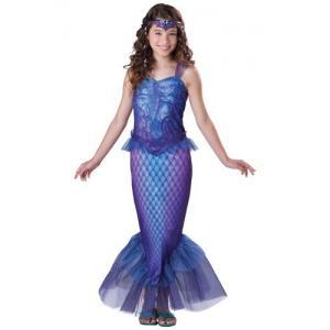 La fille de l'adolescence Halloween de Tween costume le costume mystérieux de sirène
