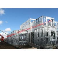 China Galvanized H- Beam Steel Structure Framing Systems For Workshop or Villa House on sale