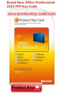 China Microsoft Office Product Activation Key For Brand new Office Professional 2010 Product Key FPP 2 PCs on sale