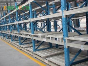 China Industrial Stackable Steel Storage Racks  1200*1000 4 Way  Euro Pallet Type on sale