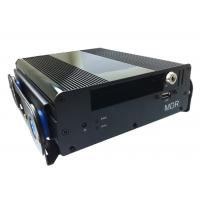 4 CH GPS Vehicle 3G Mobile DVR Digital Video Recorder CIF / HD1 / D1 Realtime Record