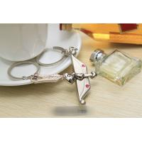 Couple Keychain, Metal Lover Keyring