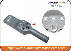 China Portable Security Metal Detector Wand With Sound And Vibration Alarm on sale