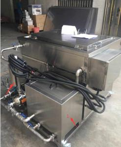 China Kitchenware , Pizza Pan Bbq Grill Industrial Ultrasonic Cleaning Equipment For Oil Remove on sale