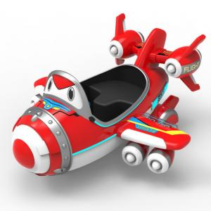 China Remote Control Airplane Kids Toys Fiberglass Material 12 Months Warranty on sale