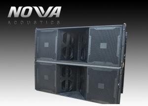 China 3 Horn 1700 W Pro Audio Speaker For Concert Halls / PA Sound Equipment on sale