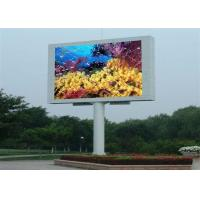 P10 High Definition electronic billboards advertising , simple structures