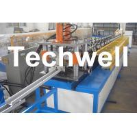 China C Stud, U Runner, U Track, Steel Stud / Track Roll Forming Machine With 0.4 - 1.0mm on sale