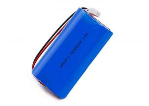 China 7.4V Smart Li Ion Battery Pack 2S 18650 2600mah For Scooter And Loud Speaker on sale