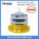 4NM Solar Marine Warning Lantern Light Beacons Signal Light Sea Buoy Lamp for Boat Aquaculture Ports & Harbors Offshore