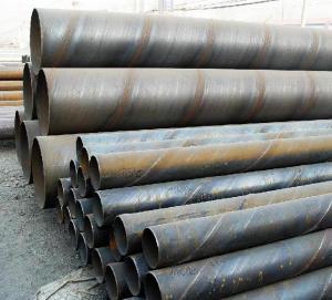 China API SPEC 5L X52のssawの螺線形は鋼管を溶接しました on sale