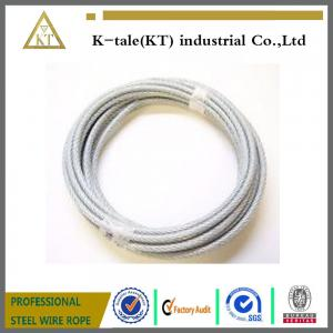 Wire Rope and Aircraft Cable/PVC coated steel wire rope for sale ...