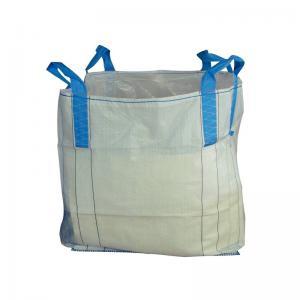 China Virgin PP Woven Empty Bulk Bags , Custom Size / Color 1 Tonne Dumpy Bags on sale