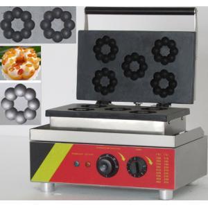 China Electric 5pcs donut machine plum, donut making machine,donut baker on sale