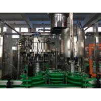 Electric Glass Bottle Filling Machine , Beverage / Drinking Water Bottling Equipment