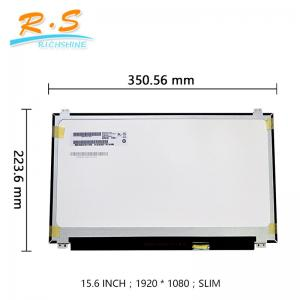 China AUO 15.6inch high resolution 1920*1080 TFT IPS B156HAK02.0(with touch)for dell laptop replacement edp interface 40pin on sale