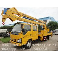 China hot sale best price CLW brand 12m-24m high altitude operation truck, factory direct sale CLW brand aerial working truck on sale