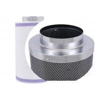 Galvanized Cartridge Carbon Filter Hydroponics  , Silver Greenhouse Carbon Block Filter Cartridge