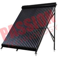 18 Tubes Copper Heat Pipe Solar Collector