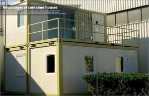 China 20 Foot Modern prefabricated accommodation  mobile modular house for worker dormitory on sale